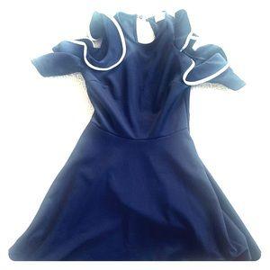ASOS Navy Blue Dress Never Worn